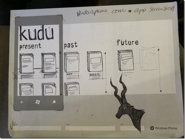 Kudu UI Sketch